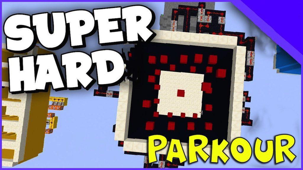 Superhard Parkour Map Thumbnail