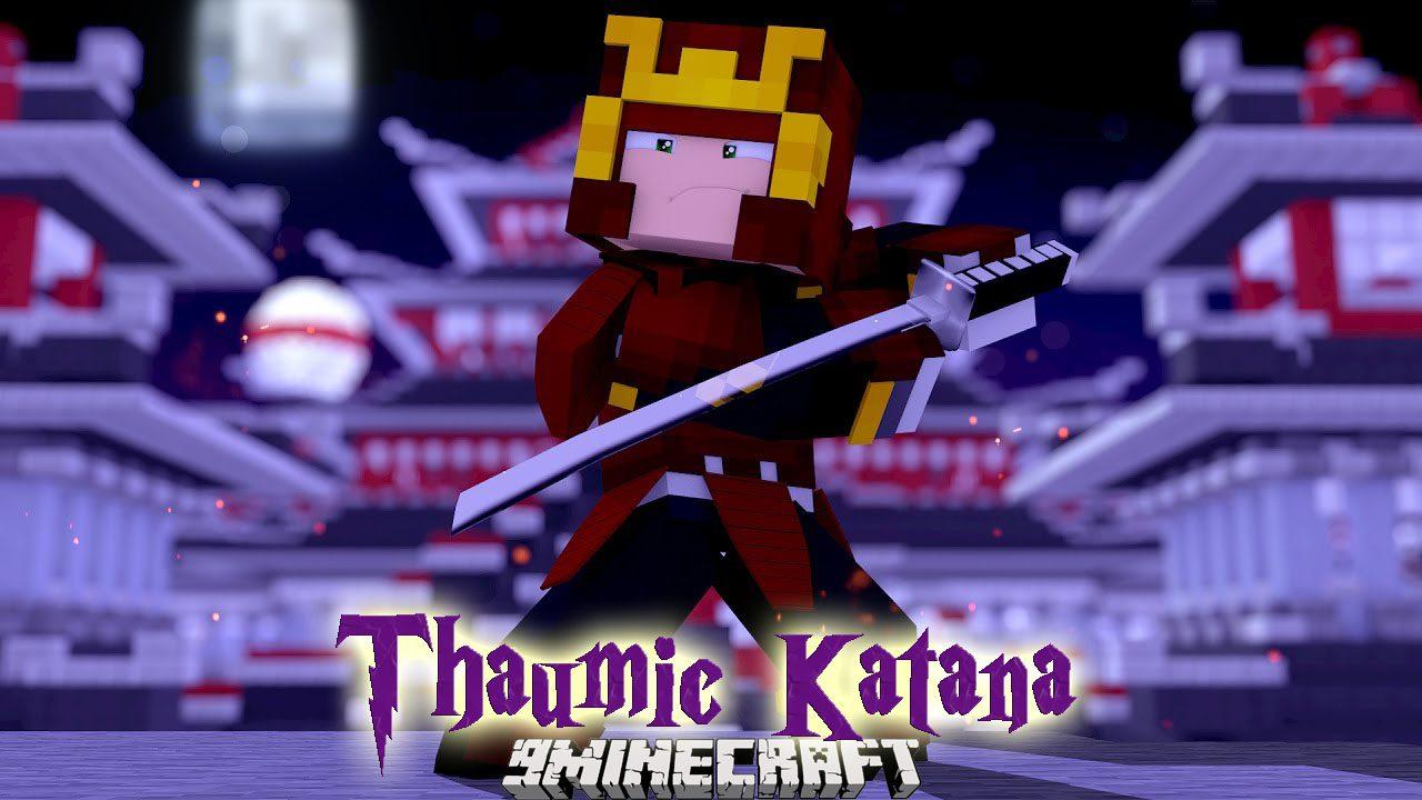 Thaumic Katana Mod