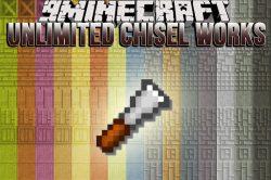 Unlimited Chisel Works Mod