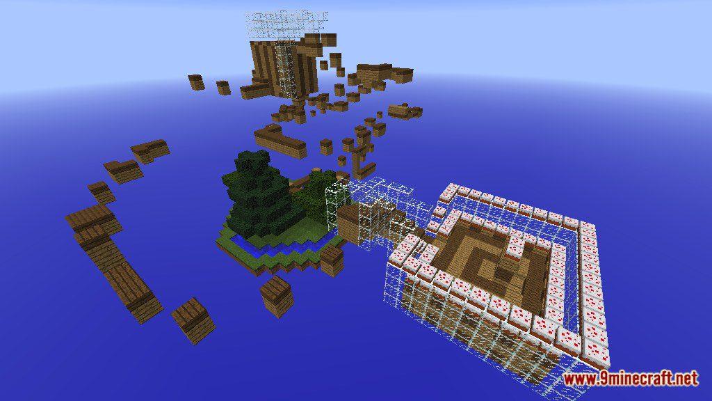 Wood parkour 2 Map Screenshots 1