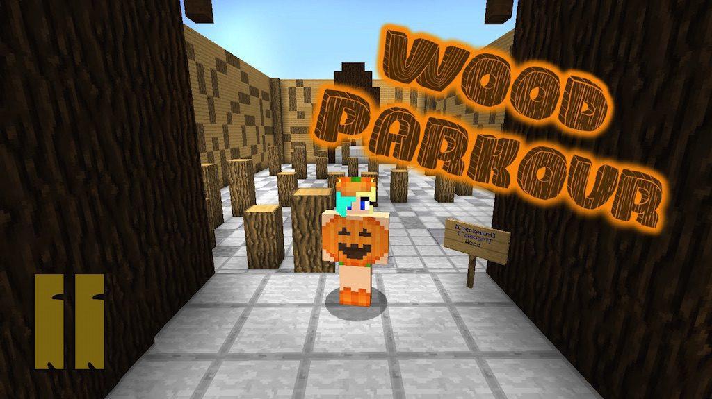 Wood parkour 2 Map Thumbnail