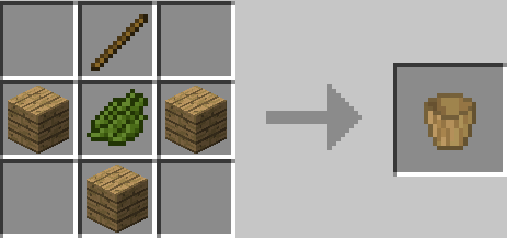 Wooden Buckets Mod Crafting Recipes 5