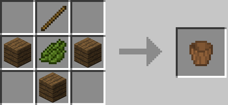Wooden Buckets Mod Crafting Recipes 6