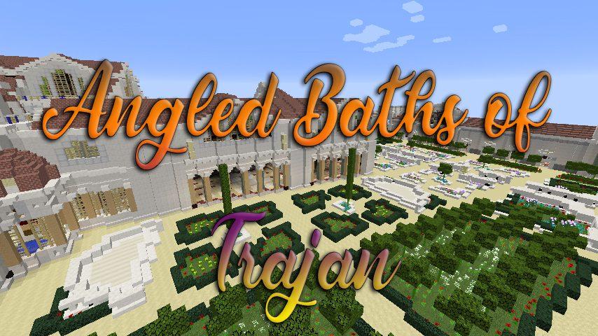 Angled Baths of Trajan Map Thumbnail