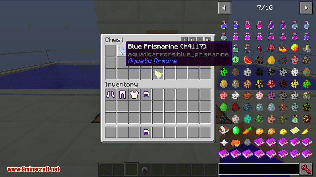 Aquatic Armors Mod Screenshots 3
