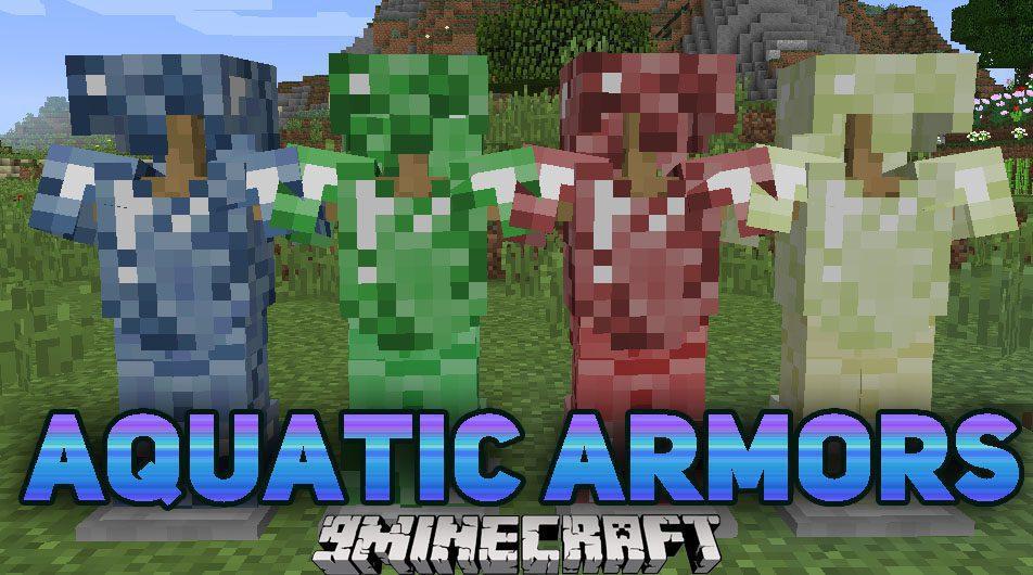 Aquatic Armors Mod