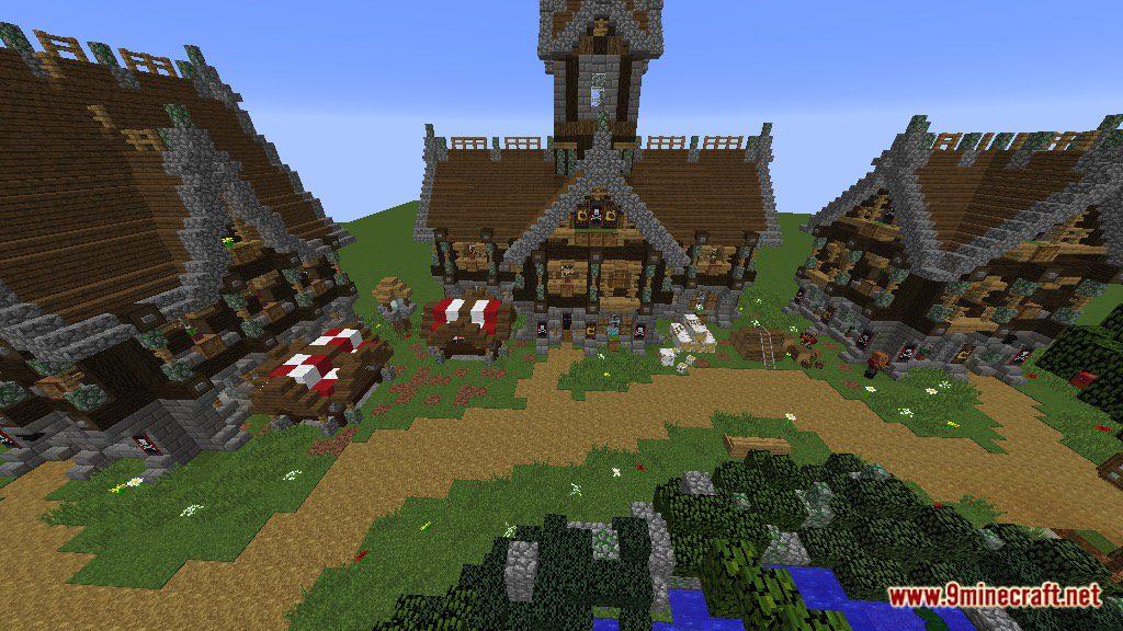 Devixiu's Medieval Town Map Screenshots 1