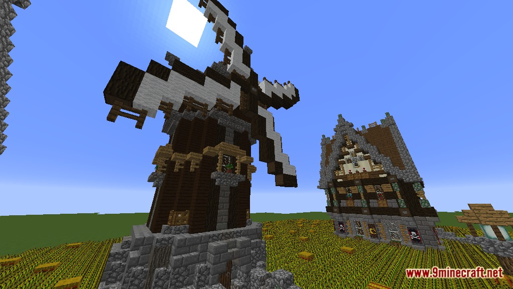 Devixiu's Medieval Town Map Screenshots 12