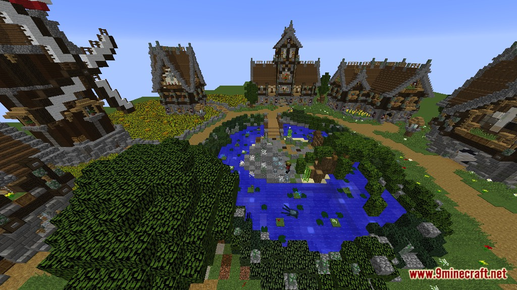 Devixiu's Medieval Town Map Screenshots 2