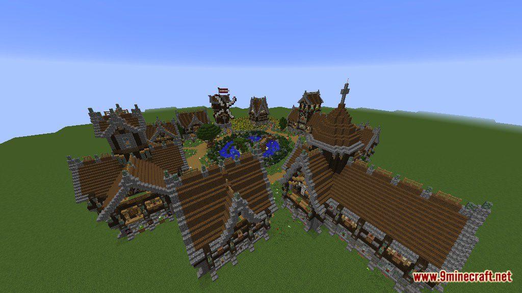 Devixiu's Medieval Town Map Screenshots 9