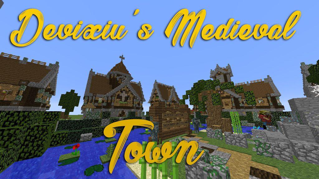 Devixiu's Medieval Town Map Thumbnail