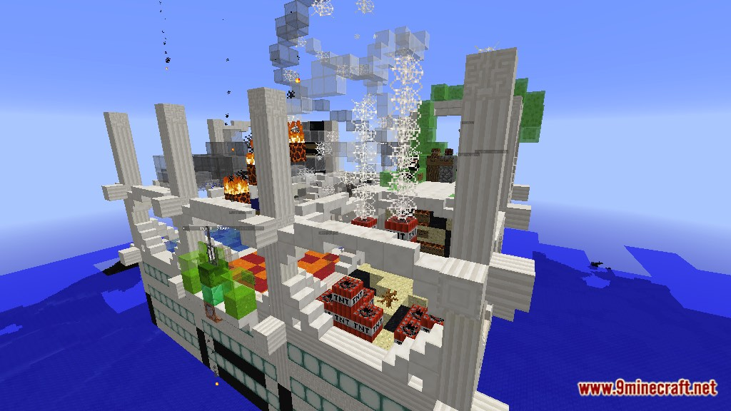 Disaster Map 1.12.2/1.12 for Minecraft - 9Minecraft.Net on