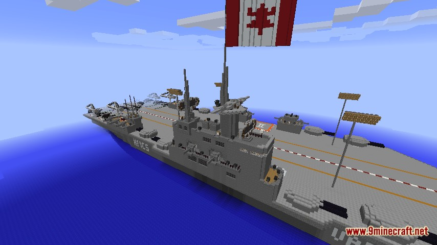 HMCS Vance Aircraft Carrier Map Screenshots 5