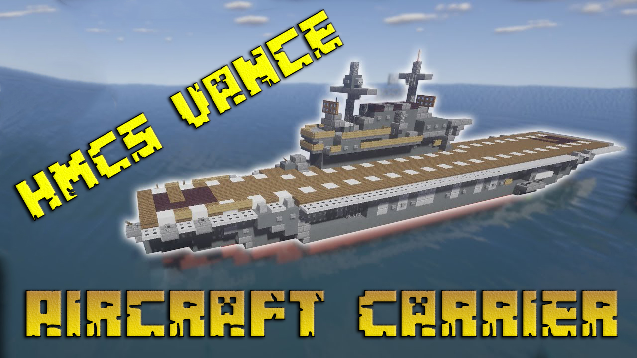 HMCS Vance Aircraft Carrier Map Thumbnail