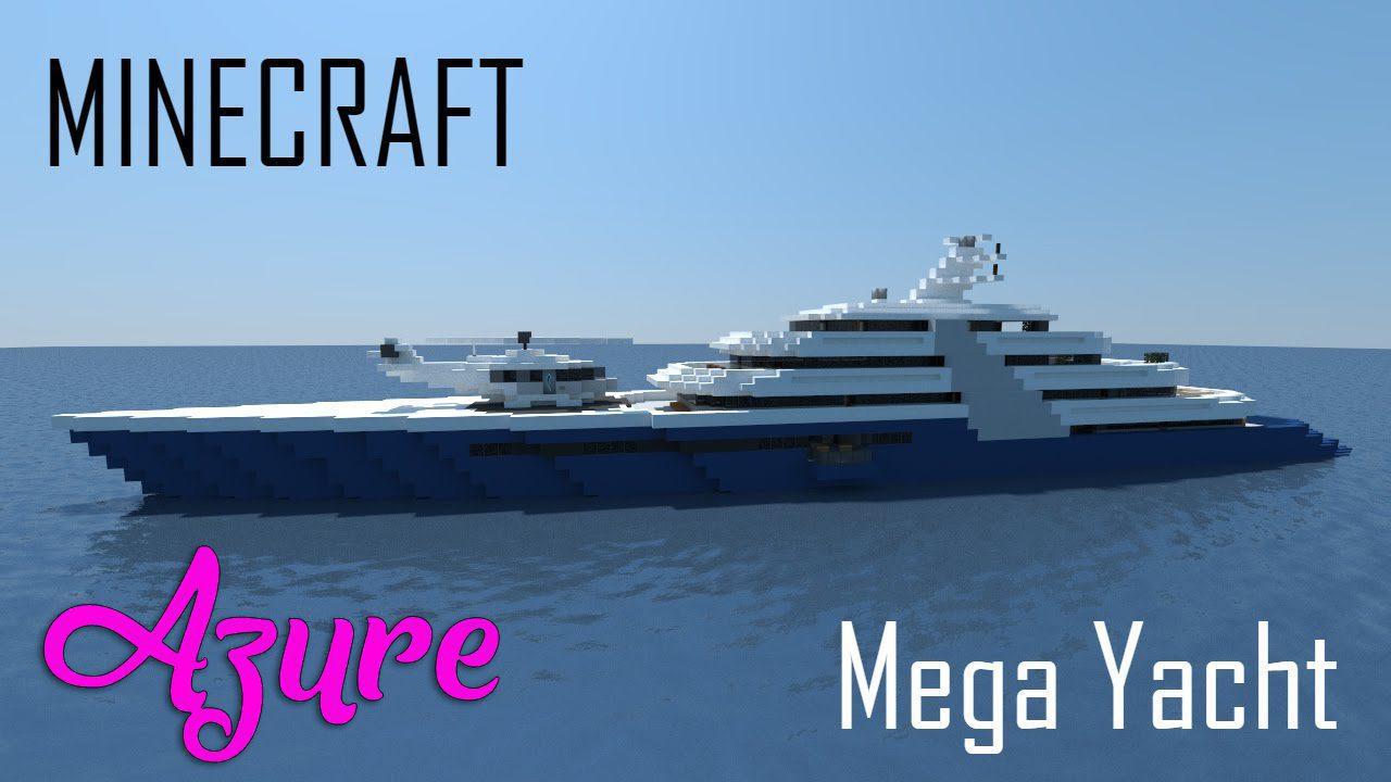 Megayacht Azure Map Thumbnail
