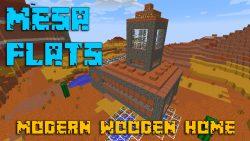 Mesa Flats – Modern Wooden Home Map Thumbnail