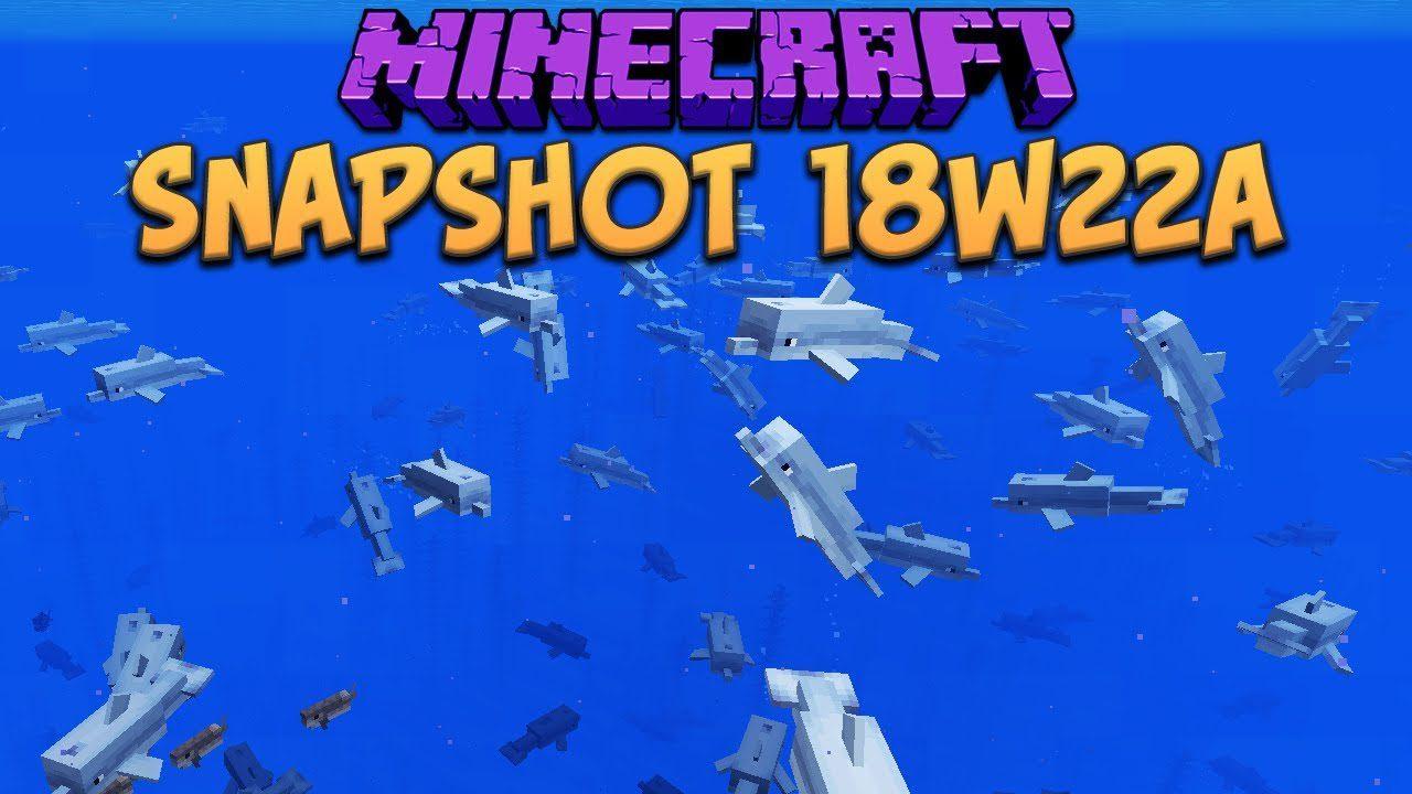 Minecraft 1.13 Snapshot 18w22b