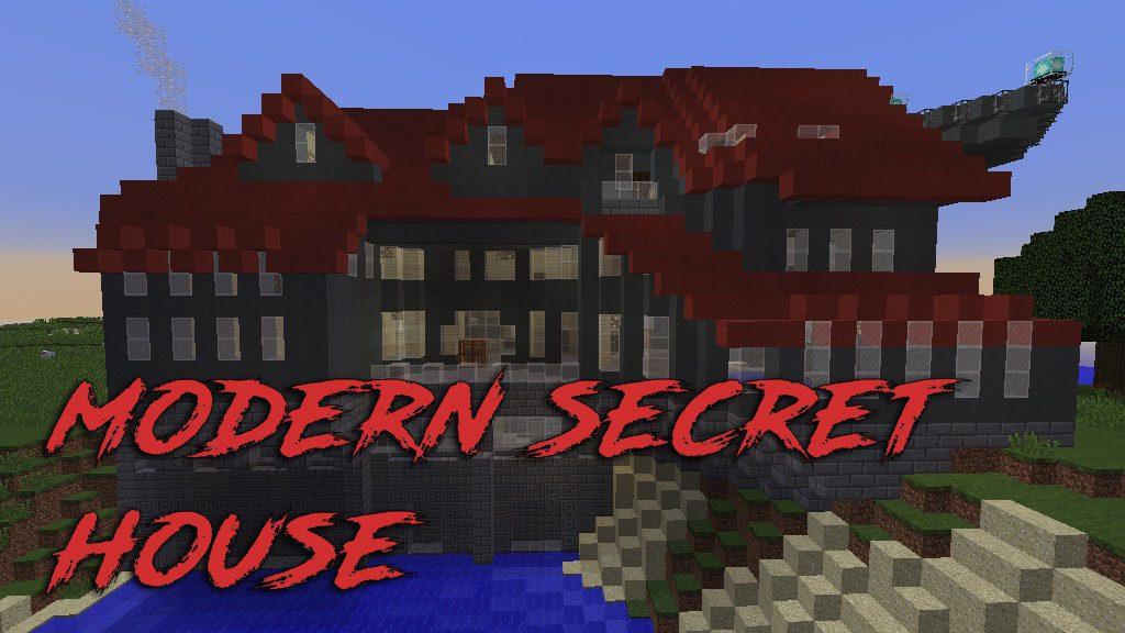 Modern Secret House Map Thumbnail