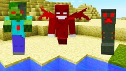 Red Mobs Mod
