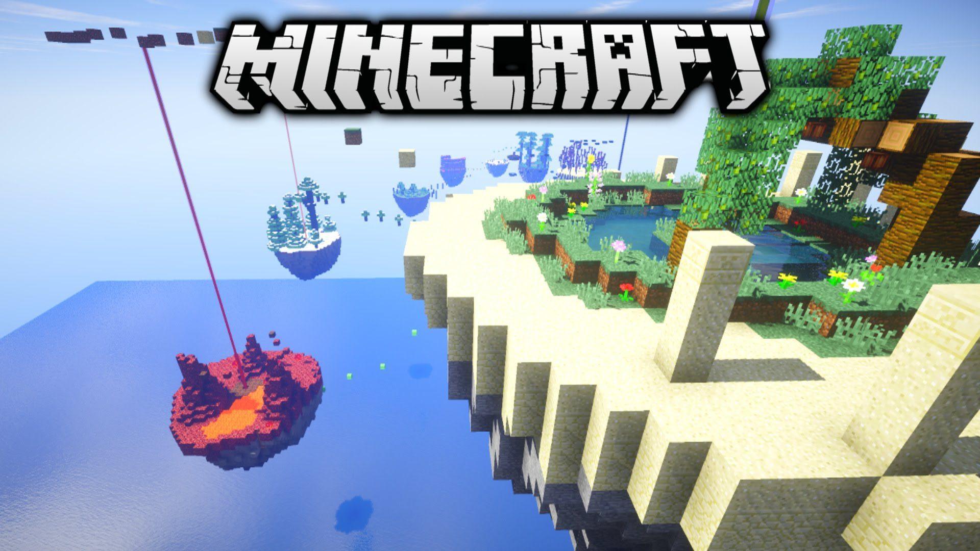 minecraft floating island generator