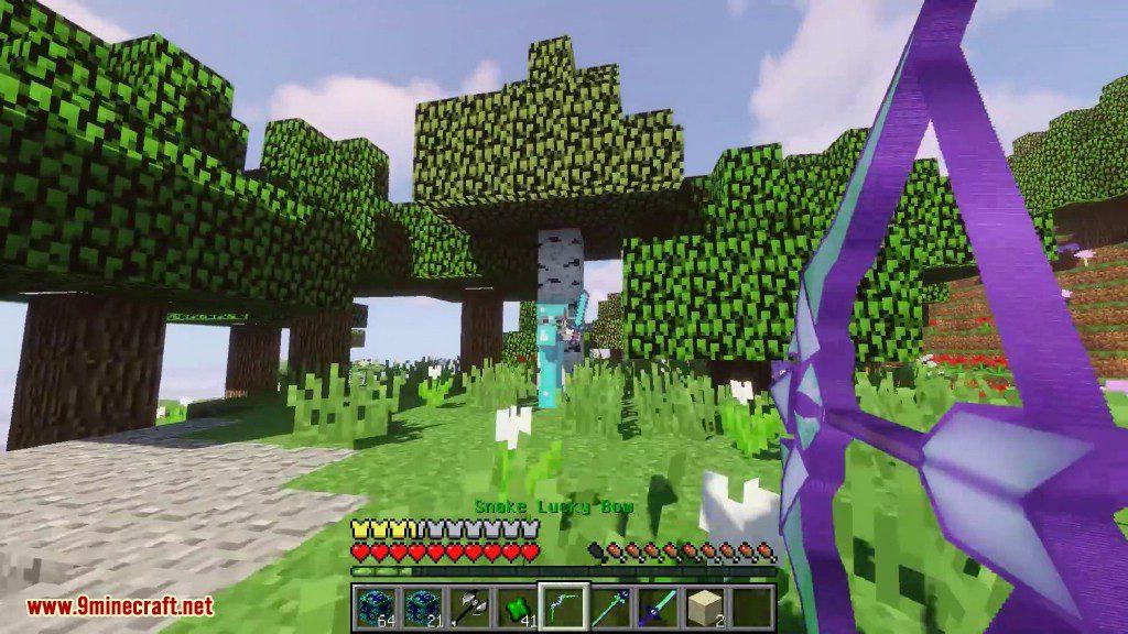 Snake Lucky Block Mod Screenshots 10