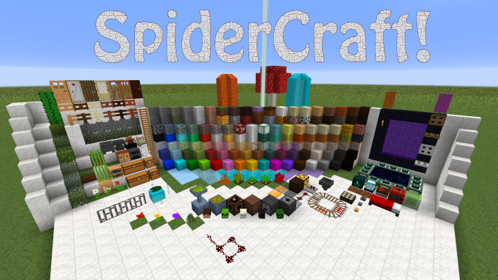 SpiderCraft Resource Pack