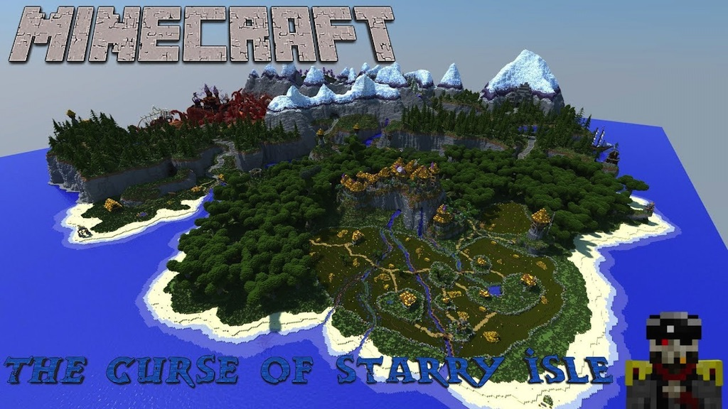The Curse of Starry Isle Map Thumbnail