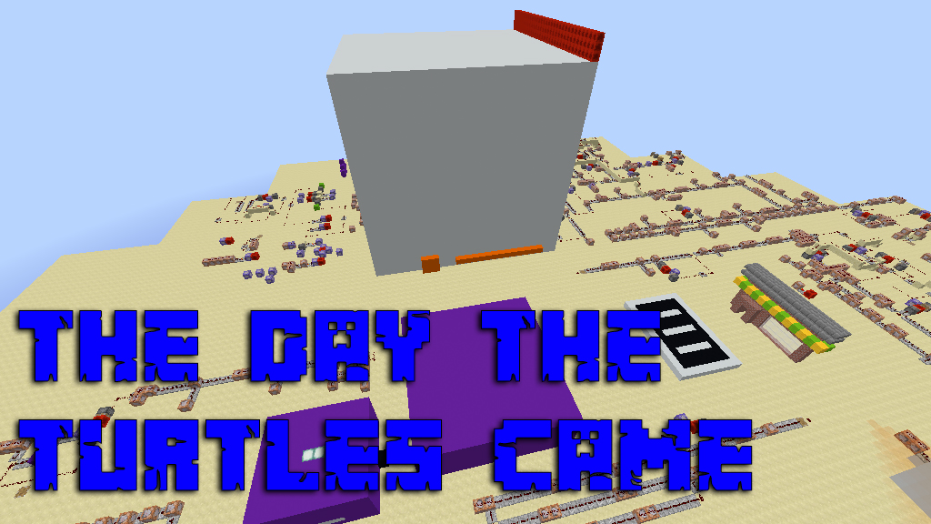 The Day The Turtles Came Map Thumbnail