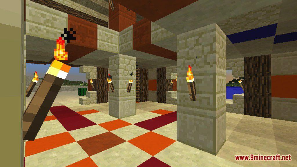 The Temple of Desert Map Screenshots 1