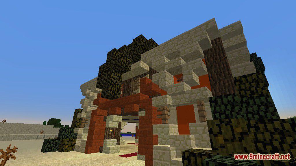 The Temple of Desert Map Screenshots 3