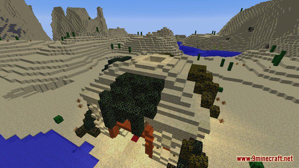 The Temple of Desert Map Screenshots 7