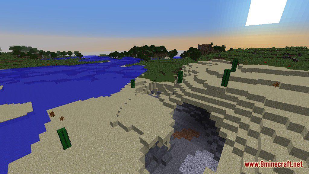 The Temple of Desert Map Screenshots 8