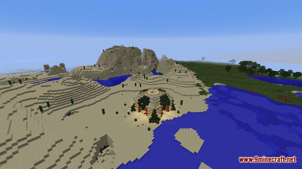The Temple of Desert Map Screenshots 9