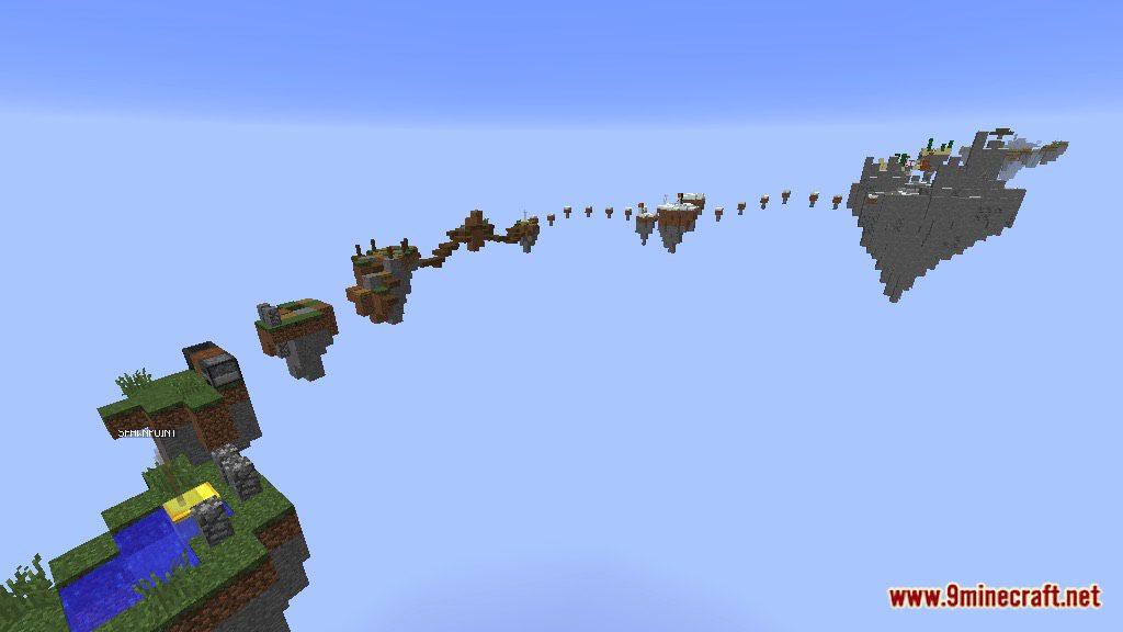 Minecraft Island Map Type
