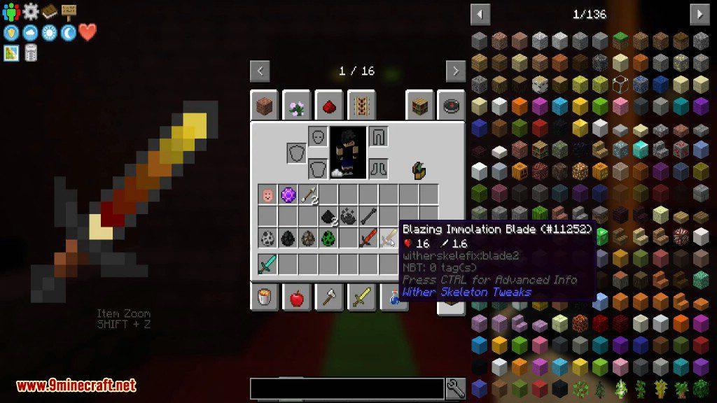 Wither Skeleton Tweaks Mod Screenshots 2