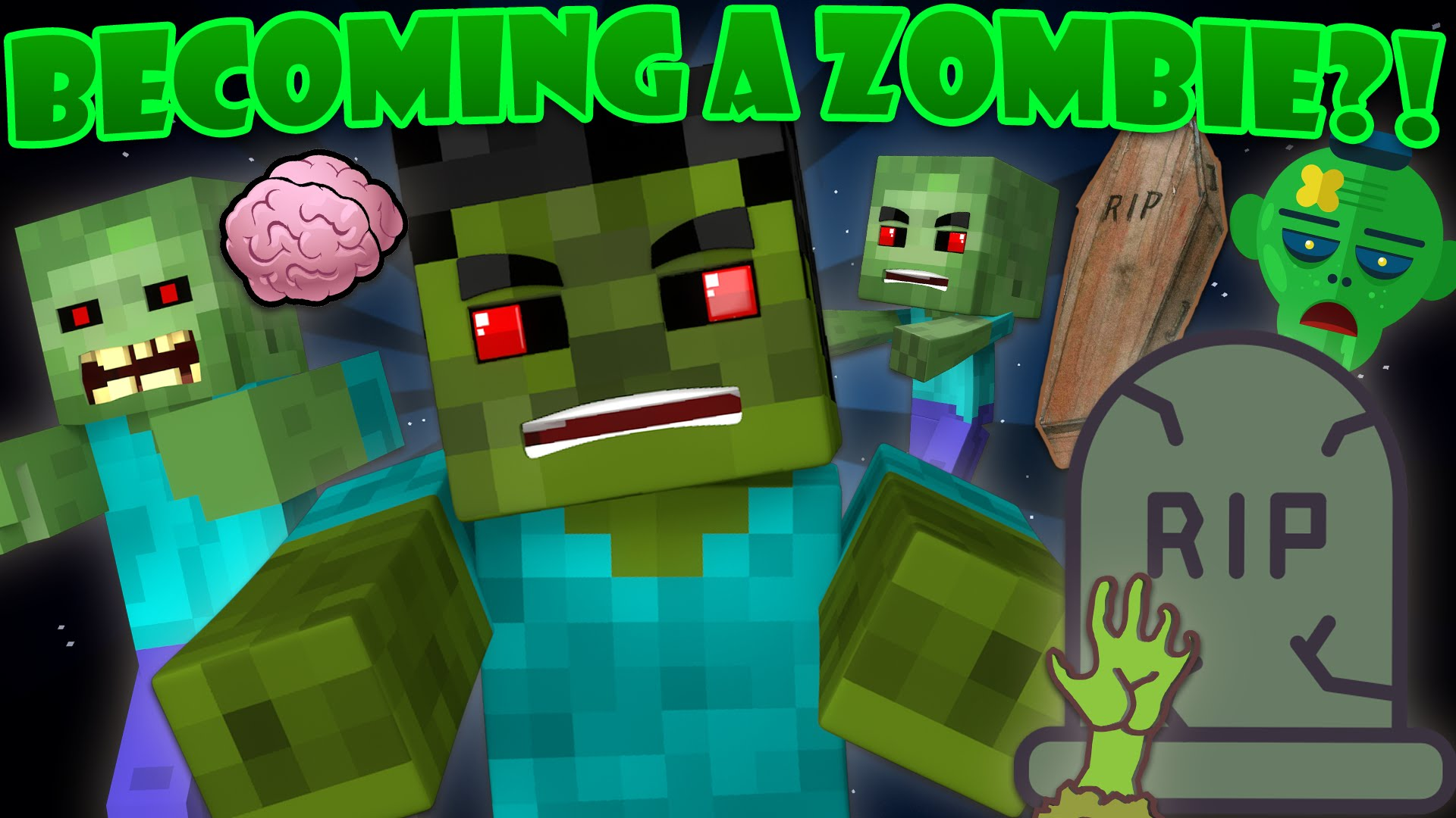 Zombie Players Mod 11.111.11 (Becoming A Zombie) - 11Minecraft.Net