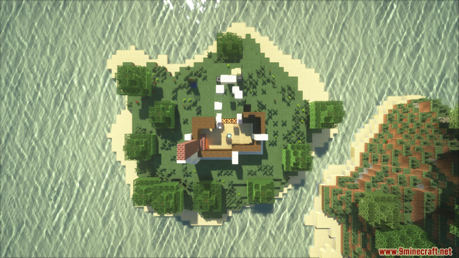 Animated Self Building Redstone House Map Screenshots (5)
