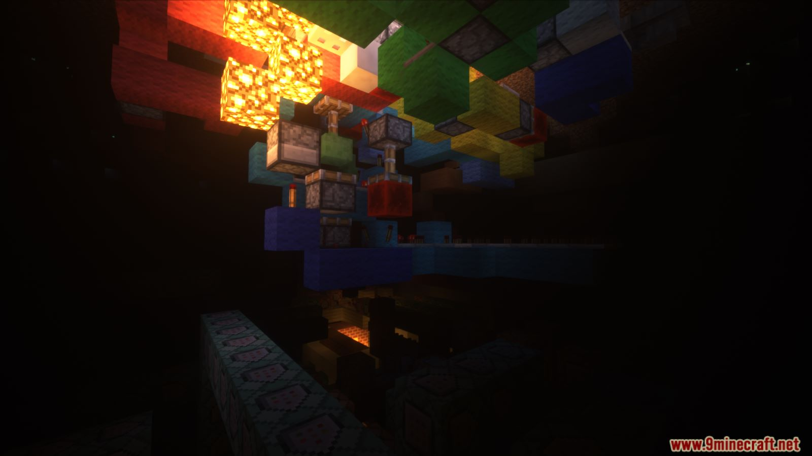 Animated Self Building Redstone House Map Screenshots (7)