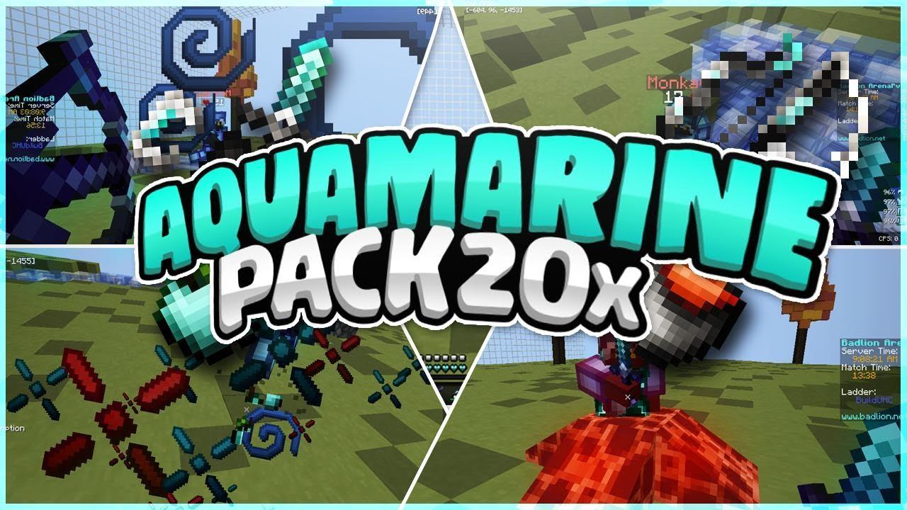 Aquamarine PvP Resource Pack