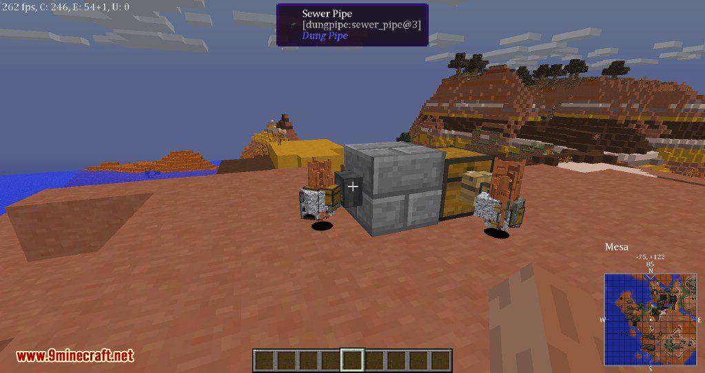 Dung Pipe Mod Screenshots 1