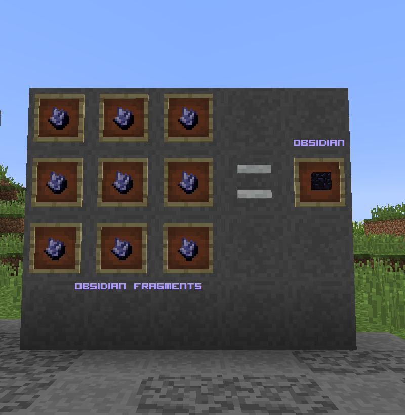 Earth Stones Mod Crafting Recipes 1