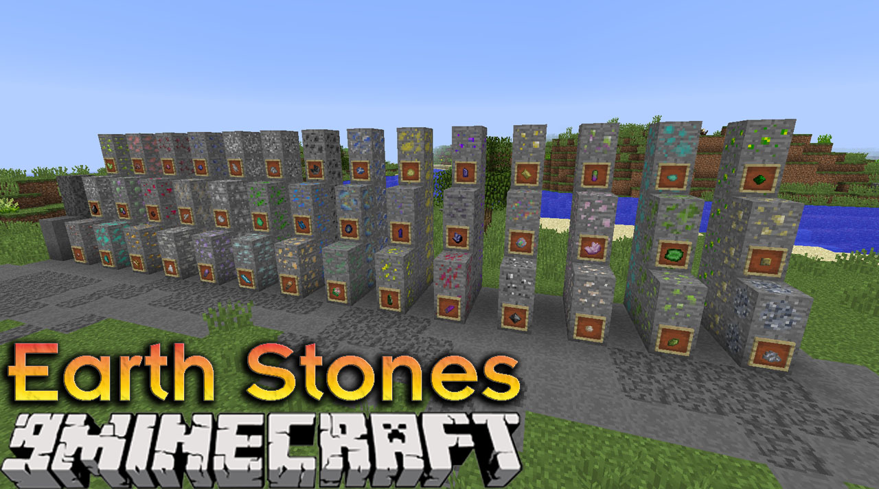 Earth Stones Mod 1 12 2 A Lot Of Real Ores 9minecraft Net