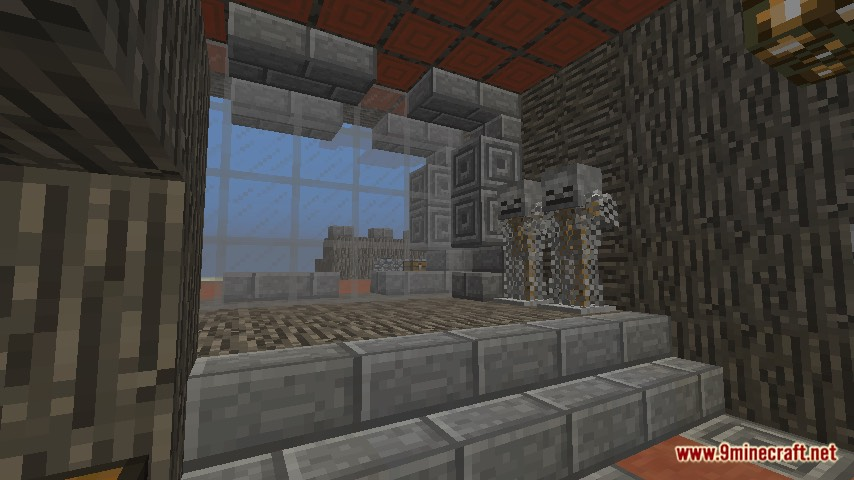 Escaped the Haunted House Map Screenshots 1
