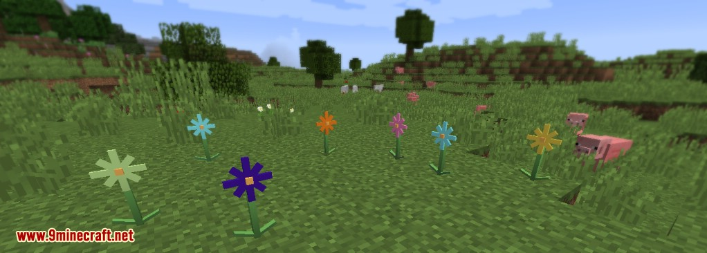 Flora And Fauna Mod 1 12 2 Bonsai Trees Succulents And Flowers 9minecraft Net