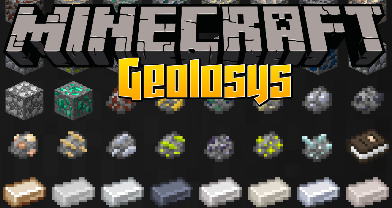 Geolosys Mod 1 12 2 (A Logical, Geological System in