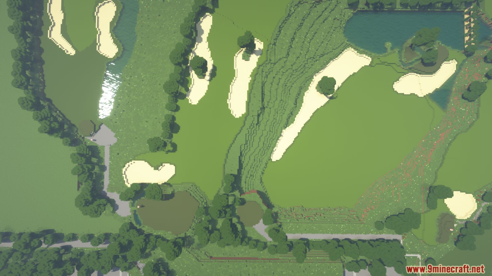Golf and Country Club Map Screenshots (9)