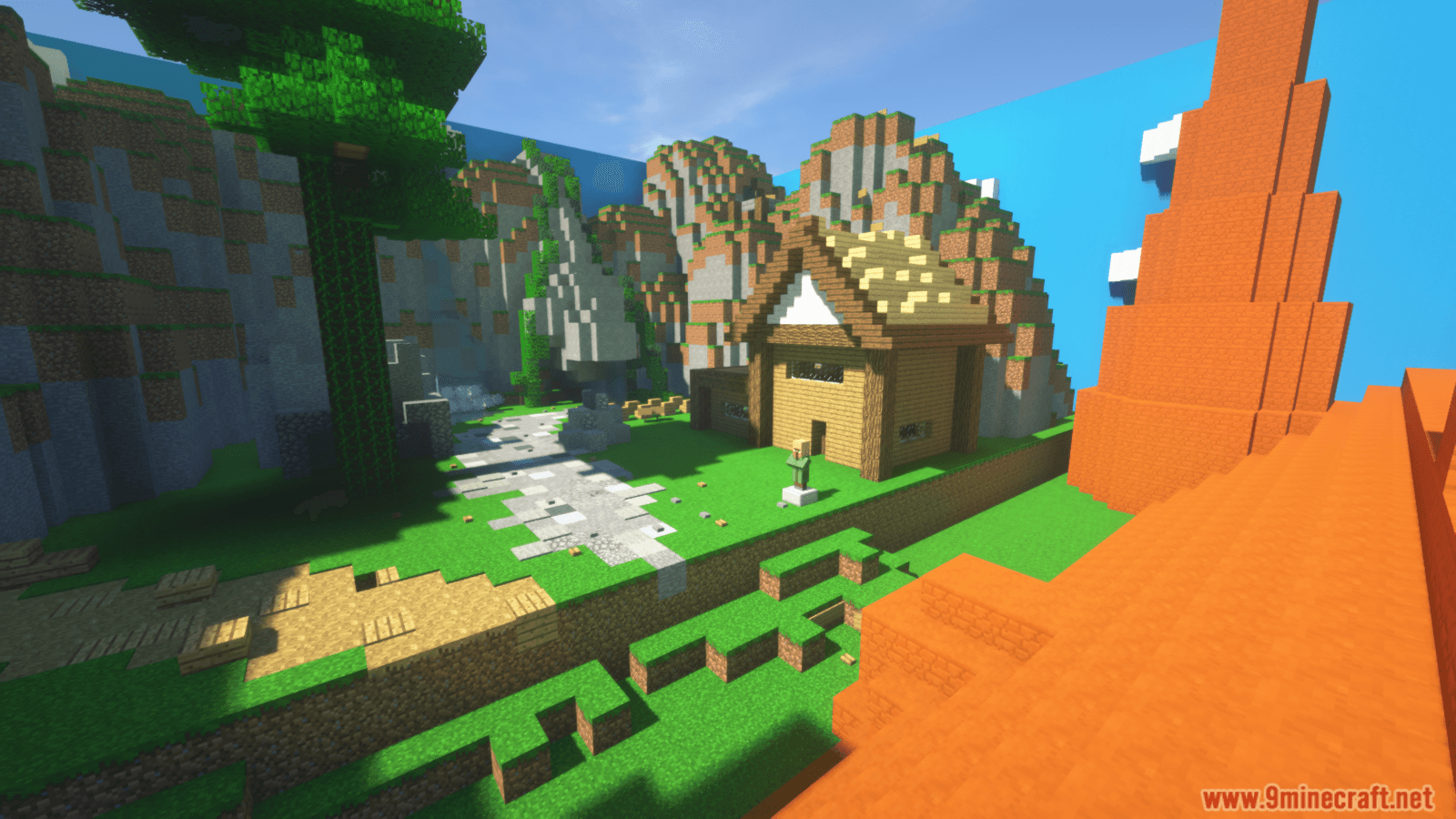 Mega Maze Parkour Map Screenshots (12)