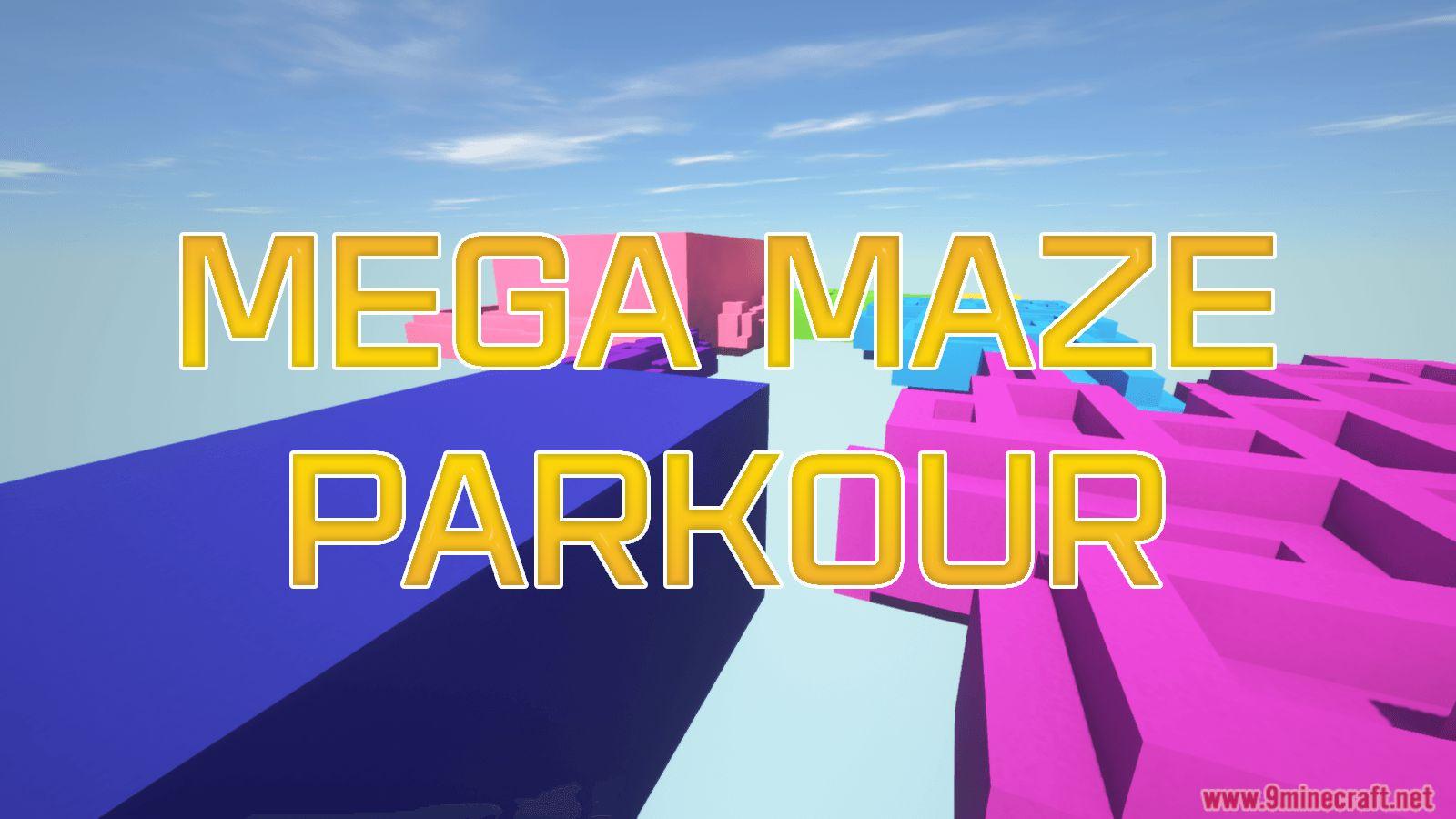 Mega Maze Parkour Map Thumbnail