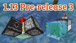 Minecraft 1.13 Pre-Release 3
