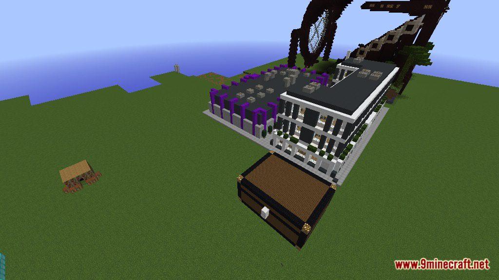Modern Office Building Map Screenshots 9